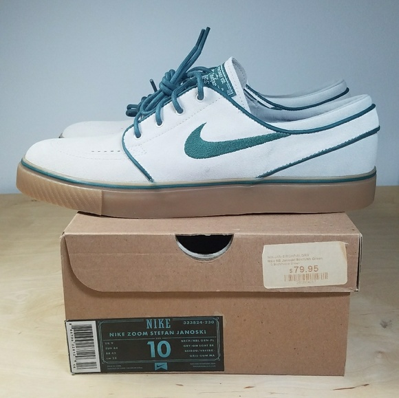 Nike Stefan Janoski - Birch   Noble Green 6b3b43966